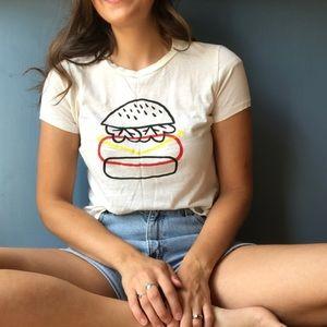 Madewell x Joey Pasko Burger Tee Shirt